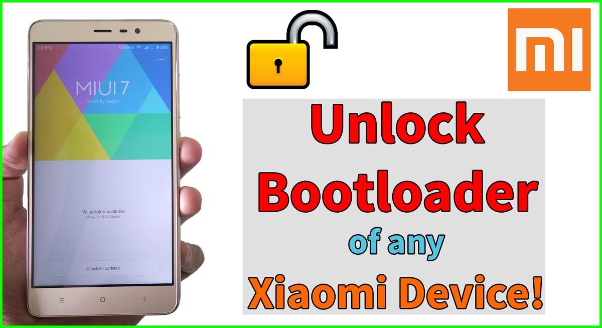 cara unlock bootloader semua hp xiaomi superdit blog